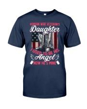 Korean War Veteran's Daughter Angel Classic T-Shirt front