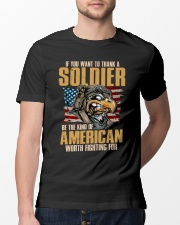 American Worth Fighting For Classic T-Shirt lifestyle-mens-crewneck-front-13