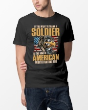 American Worth Fighting For Classic T-Shirt lifestyle-mens-crewneck-front-14