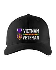 Vietnam Veteran-Purple Heart Embroidered Hat thumbnail