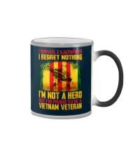 I Served-I Sacrificed-I Regret Nothing Color Changing Mug thumbnail