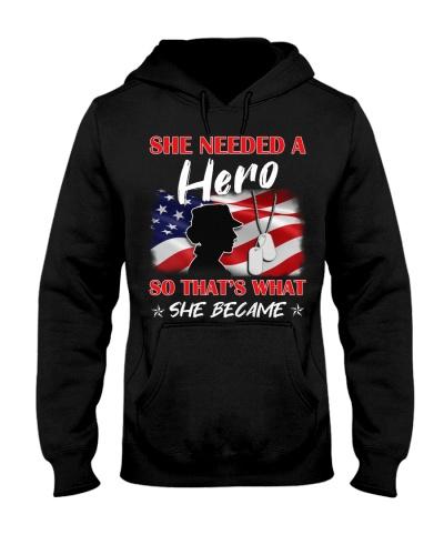 She Needs A Hero