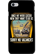 We were cussed Phone Case thumbnail