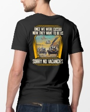 We were cussed Classic T-Shirt lifestyle-mens-crewneck-back-5