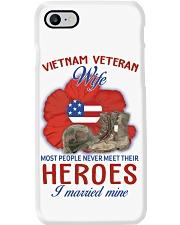 Hero Vietnam Veteran's Wife Phone Case thumbnail