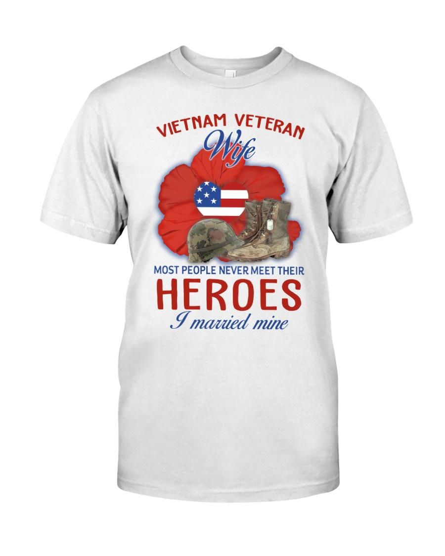 Hero Vietnam Veteran's Wife Classic T-Shirt