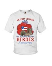 Hero Vietnam Veteran's Wife Youth T-Shirt thumbnail