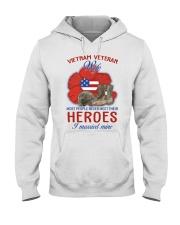 Hero Vietnam Veteran's Wife Hooded Sweatshirt thumbnail