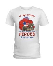 Hero Vietnam Veteran's Wife Ladies T-Shirt thumbnail