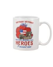 Hero Vietnam Veteran's Wife Mug thumbnail