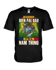 Beaucoup Dien Cai Dau V-Neck T-Shirt thumbnail