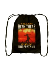 You've Never Been There Drawstring Bag thumbnail