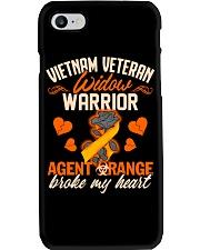 Vietnam Veteran Widow Warrior Phone Case thumbnail