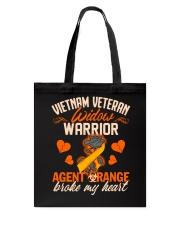Vietnam Veteran Widow Warrior Tote Bag thumbnail