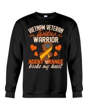 Vietnam Veteran Widow Warrior Crewneck Sweatshirt thumbnail