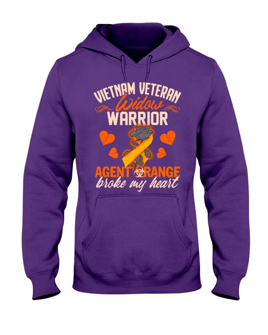 Vietnam Veteran Widow Warrior Hooded Sweatshirt