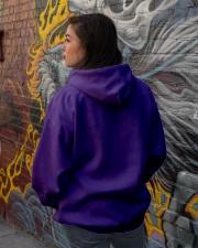 Vietnam Veteran Widow Warrior Hooded Sweatshirt lifestyle-unisex-hoodie-back-1