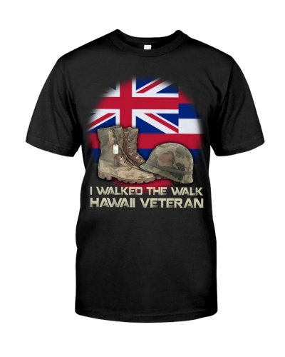 I Walked The Walk Hawaii Veteran