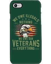 We Owe Our Veterans Phone Case thumbnail