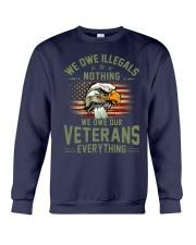 We Owe Our Veterans Crewneck Sweatshirt thumbnail