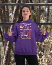 Meet Their Heroes-Wife Hooded Sweatshirt apparel-hooded-sweatshirt-lifestyle-05