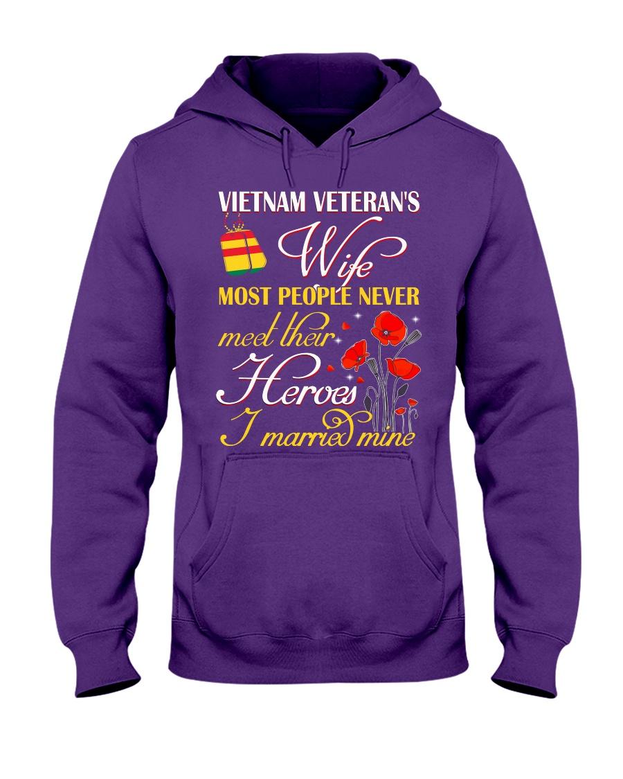 Meet Their Heroes-Wife Hooded Sweatshirt