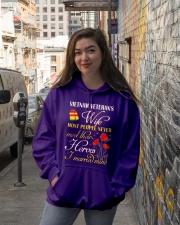 Meet Their Heroes-Wife Hooded Sweatshirt lifestyle-unisex-hoodie-front-1