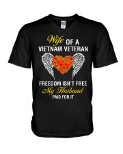My Husband Paid V-Neck T-Shirt thumbnail
