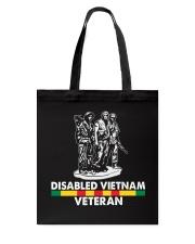 Disabled Vietnam Veteran Tote Bag thumbnail