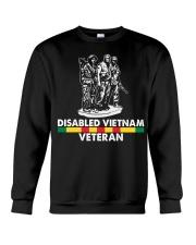 Disabled Vietnam Veteran Crewneck Sweatshirt thumbnail