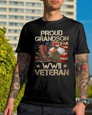 Proud Grandson Classic T-Shirt lifestyle-mens-crewneck-front-8