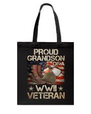 Proud Grandson Tote Bag thumbnail