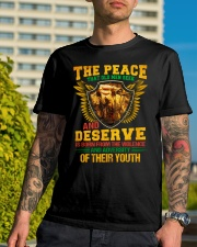 The Peace Classic T-Shirt lifestyle-mens-crewneck-front-8
