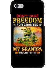 My Grandpa Fought For It Phone Case thumbnail
