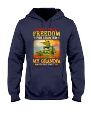 My Grandpa Fought For It Hooded Sweatshirt thumbnail