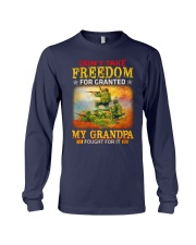 My Grandpa Fought For It Long Sleeve Tee thumbnail