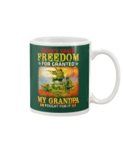 My Grandpa Fought For It Mug thumbnail