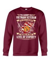 Grumpy Old Vietnam Vet Crewneck Sweatshirt thumbnail