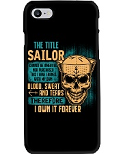 The Title Phone Case tile