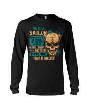 The Title Long Sleeve Tee tile