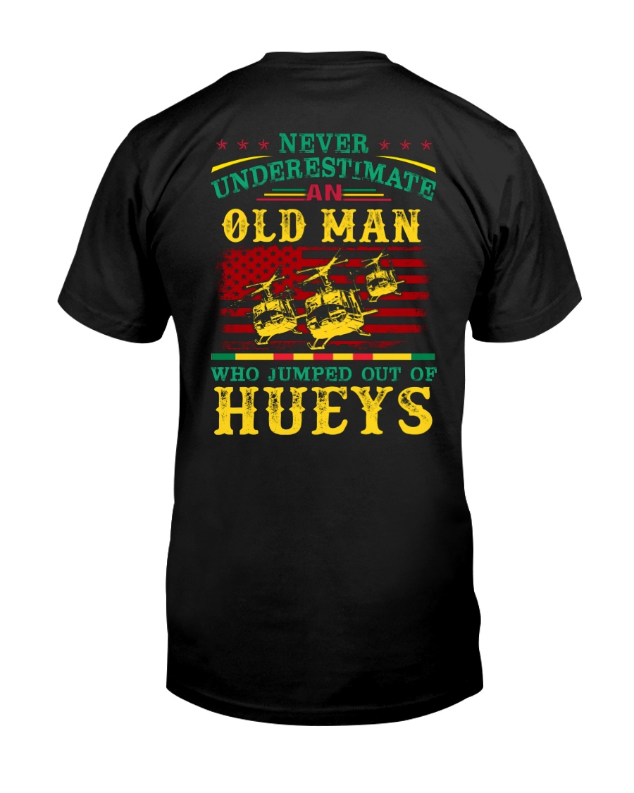 Jumped Out Of Hueys Classic T-Shirt
