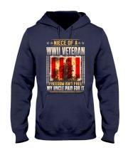 WWII Veteran Niece Hooded Sweatshirt thumbnail