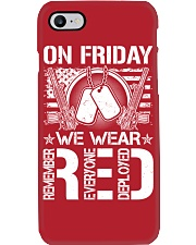 Wear RED Back Phone Case thumbnail
