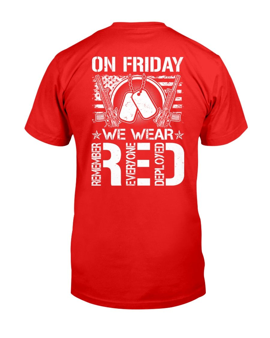 Wear RED Back Classic T-Shirt