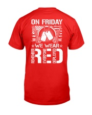 Wear RED Back Classic T-Shirt back