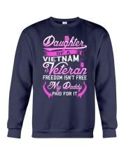 Vietnam Veteran Daughter - My Daddy Paid for it Crewneck Sweatshirt thumbnail