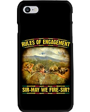 Rules Of Engagement Phone Case thumbnail