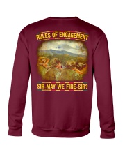 Rules Of Engagement Crewneck Sweatshirt thumbnail