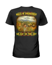 Rules Of Engagement Ladies T-Shirt thumbnail