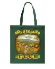 Rules Of Engagement Tote Bag thumbnail